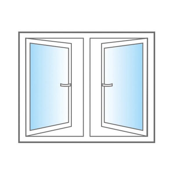 Double Opening Windows : Shine upvc windows leading doors